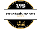 Dr. Chapin has been inducted into the RealSelf Hall of Fame