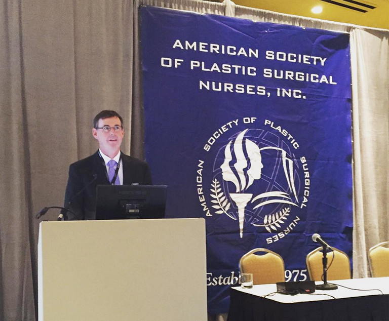 Dr. Chapin speaking at The American Society of Plastic Surgical Nurses, Inc.